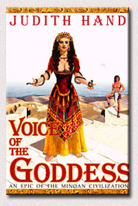 Voice of the Goddess Bookcover