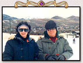 Judith and Hal, Sun Valley